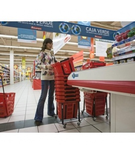 Araven Wheeled Basket-trolley