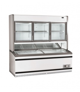 Fricon Vertical Display Cabinet Combi