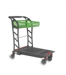 Polycart Platform shopping cart F150
