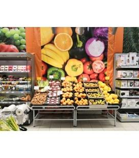Стеллаж для овощей и фруктов
