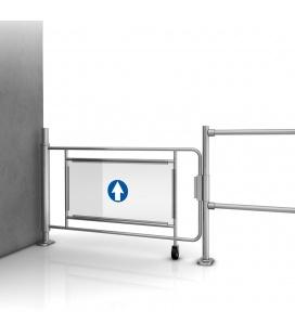 Mechanical pallet passage